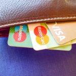 Cartes Maestro-MasterCard-Visa dans un portefeuille