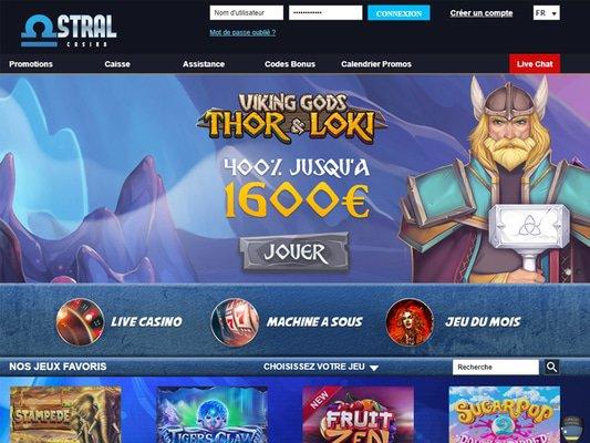 Accueil Astral Casino