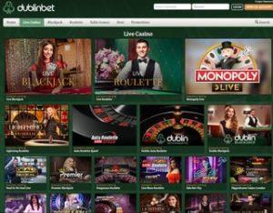 dublinbet-live casino