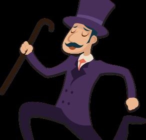 Mr James Casino personnage