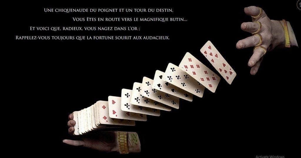 Joka Casino-magicien-cartes