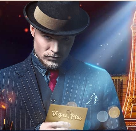 VegasPlus casino homme chapeau